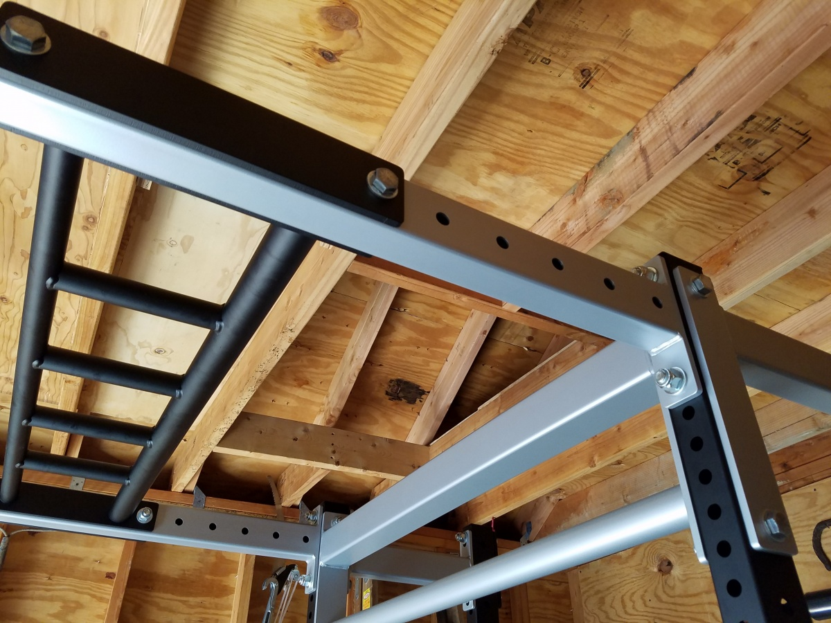 2x3 tubing for upper portion of 3x3 power rack