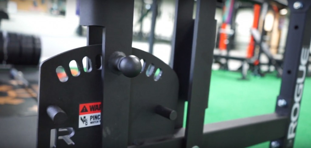 Rogue Abram GHD horizontal swing arm adjustment