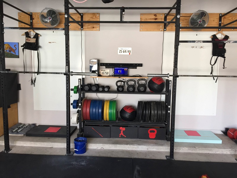 Benjamins 5 year garage gym evolution
