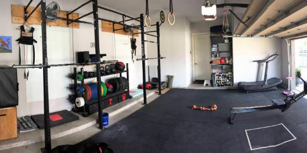 Benjamins 5 year garage gym evolution