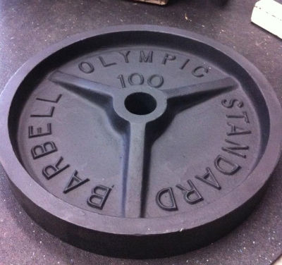 another model of a standard olympic plate