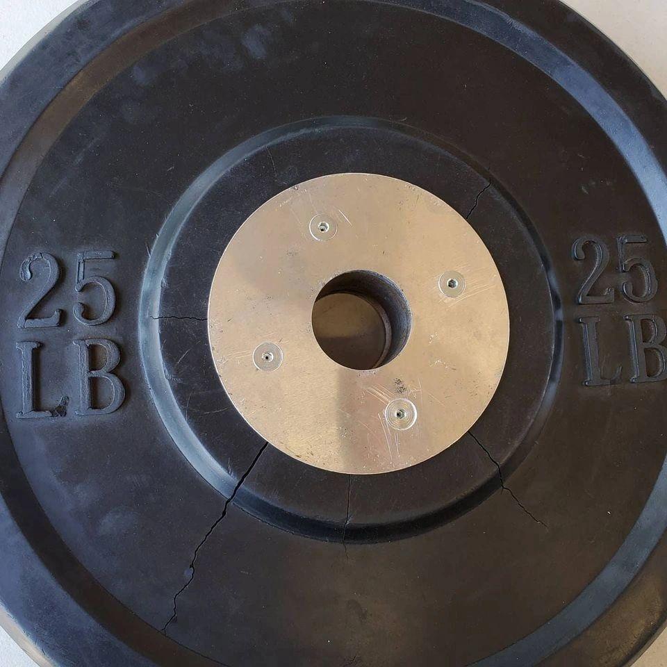 how to repair bumper plates