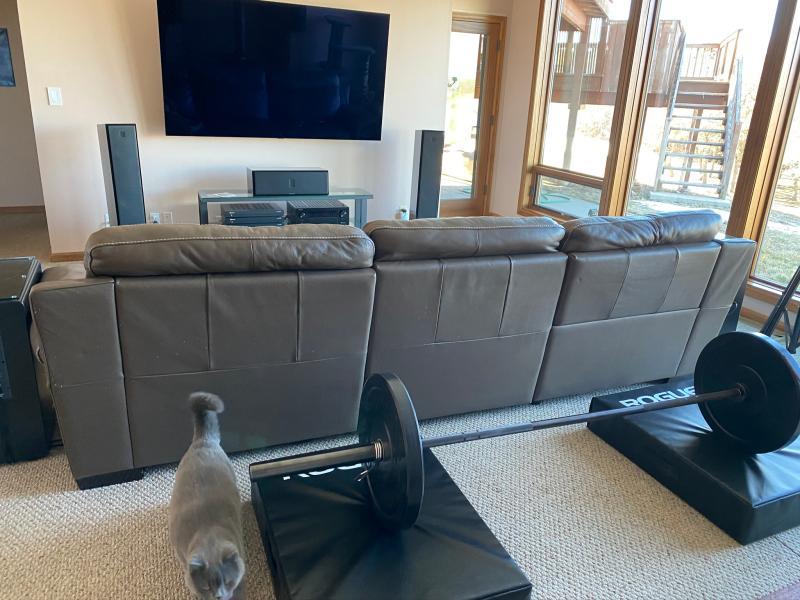 barbell crash cushion for apartment