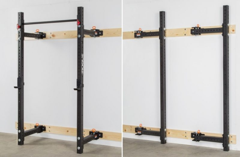space saving solution for squat rack