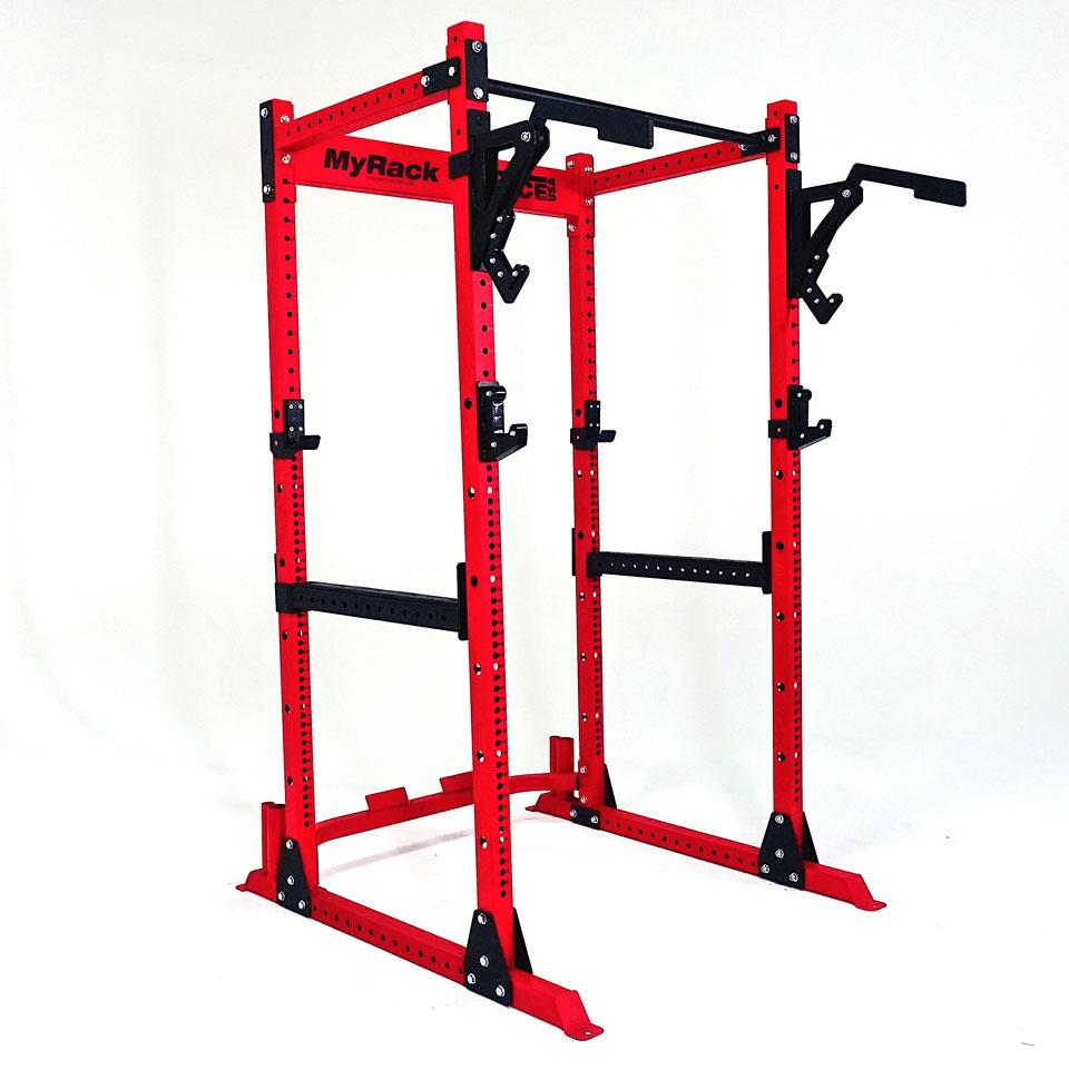 MyRack modular freestanding or bolt-down power rack