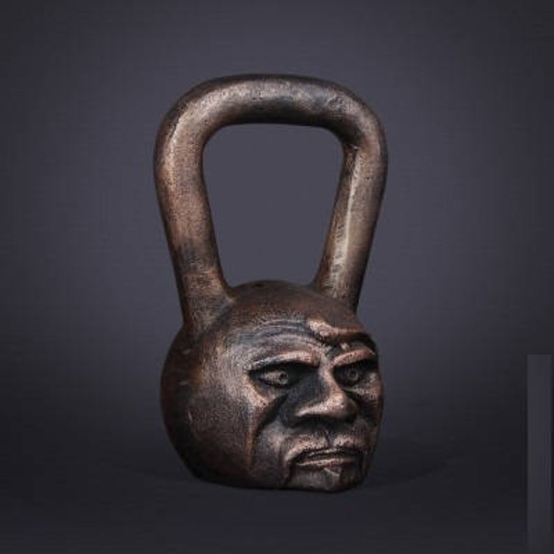 hand forged kettlebell