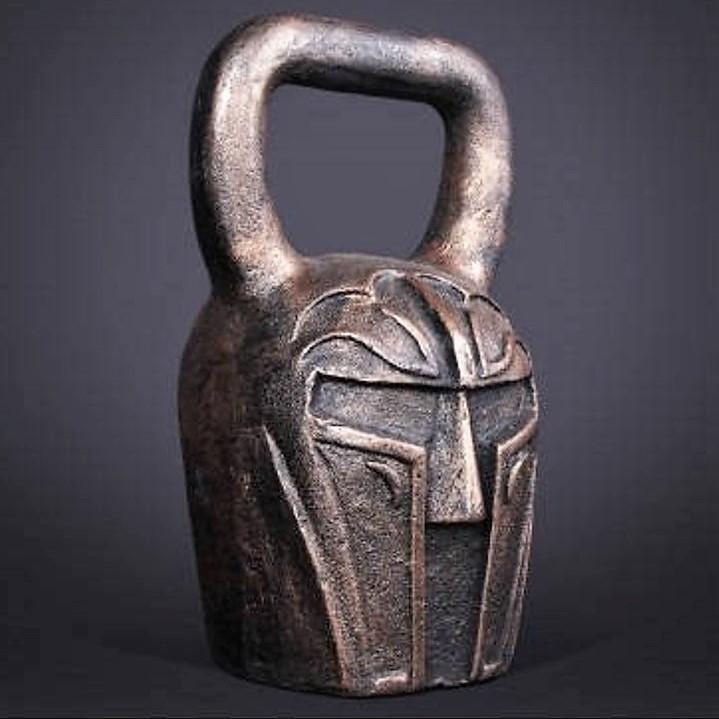 handmade knight kettlebell