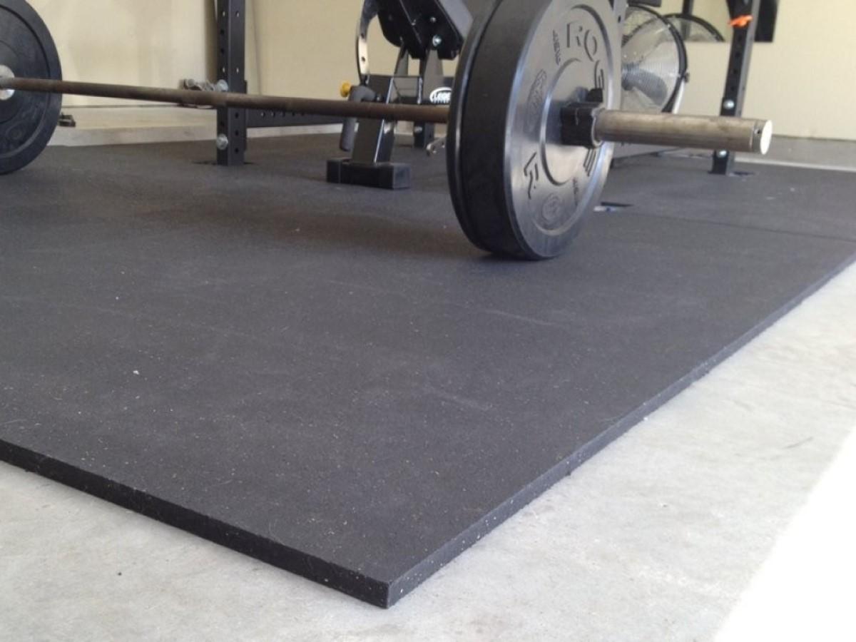 Floor Mat Exercise Tiles Garage Home Fitness GYM RUBBER FLOORING Workout Mats
