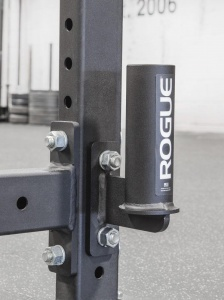 Rogue vertical barbell holder for power rack