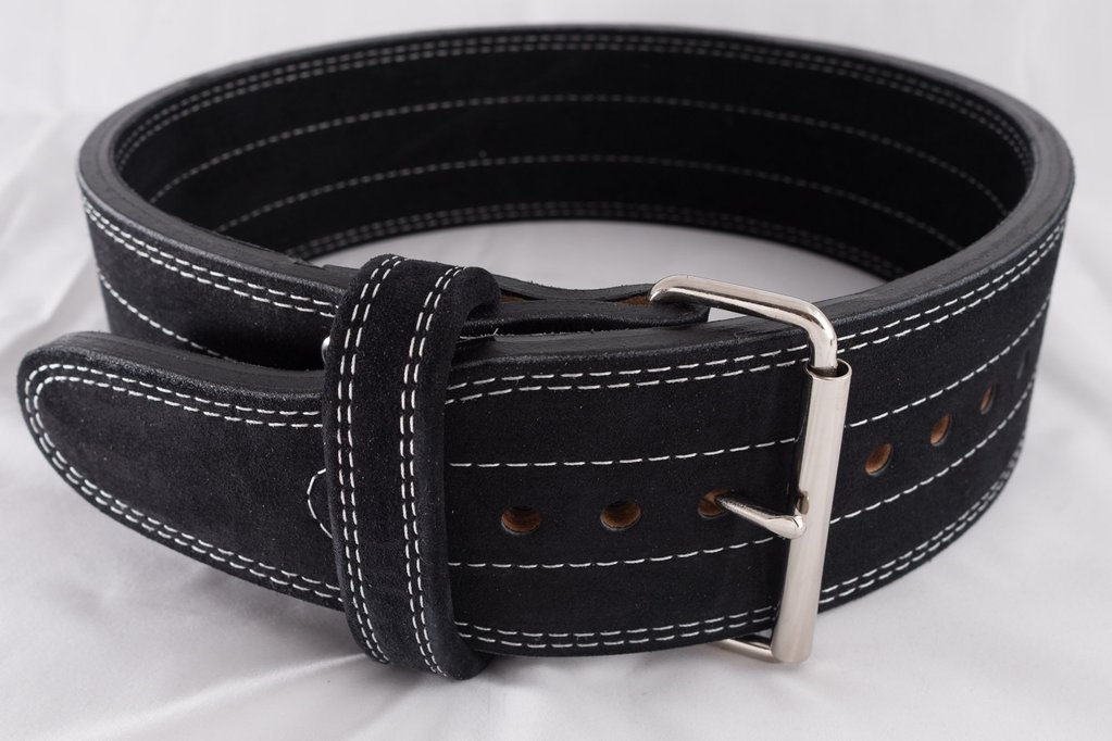 Gift idea: Leather weightlifting belt