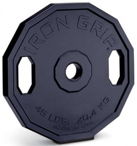 iron grip 12 sided plate