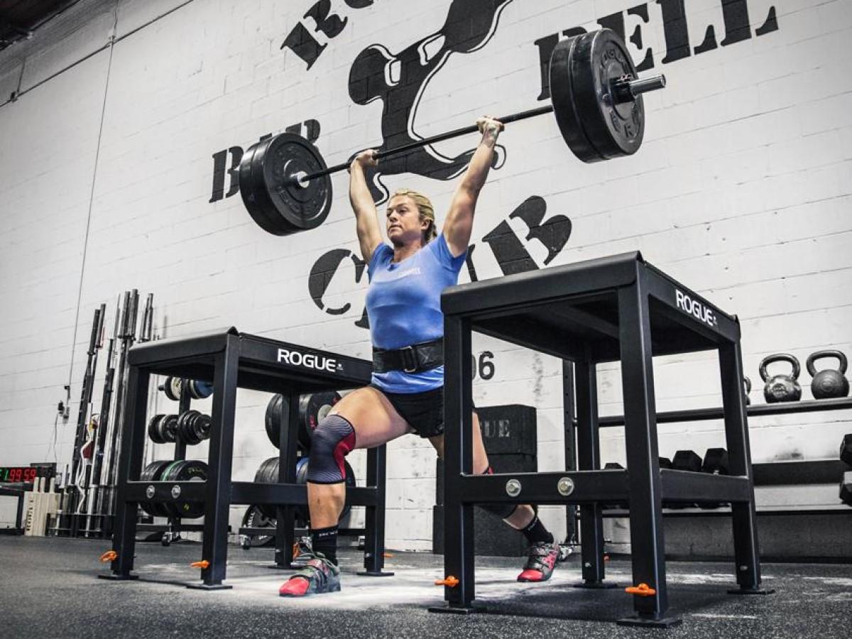 jerk blocks for olympic lifting training