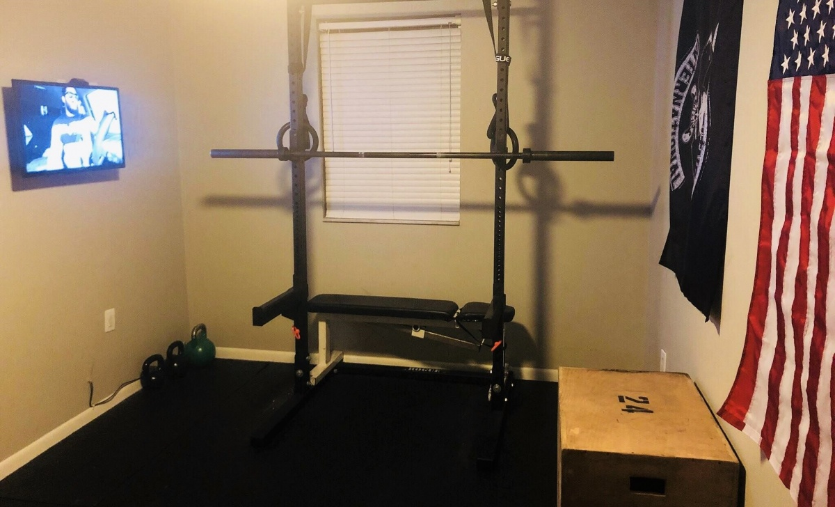 original bedroom home gym