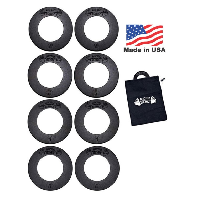fractional olympic weight plates made in the usa