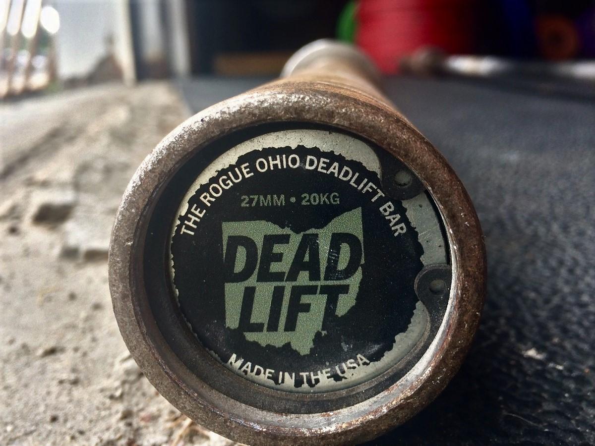 Rogue Deadlift Bar end cap