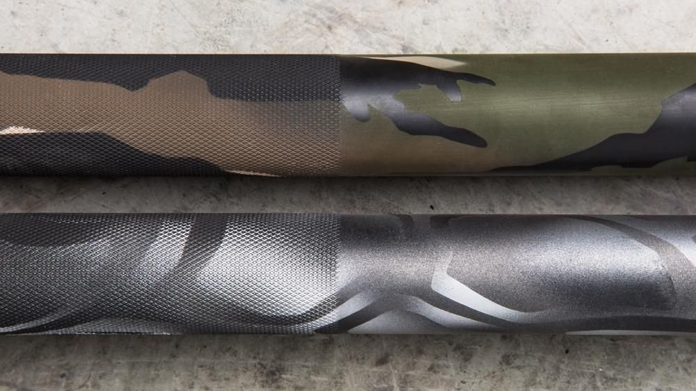 Rogue Operator Bar with camo Cerakote designs