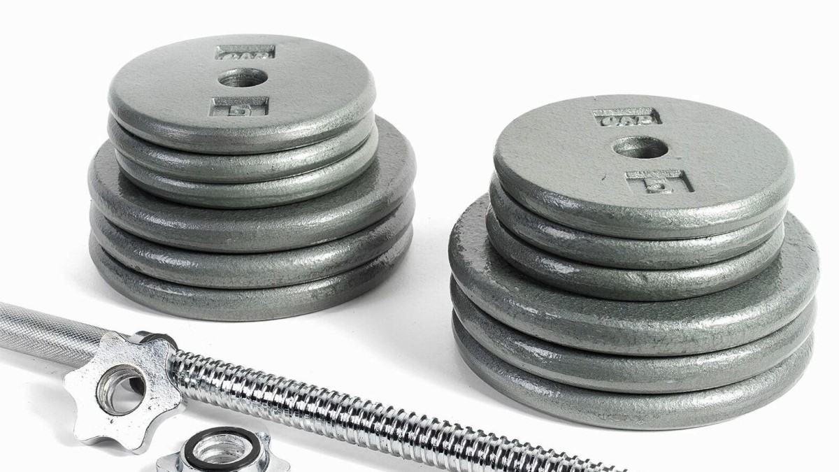 pancake style standard weight plates