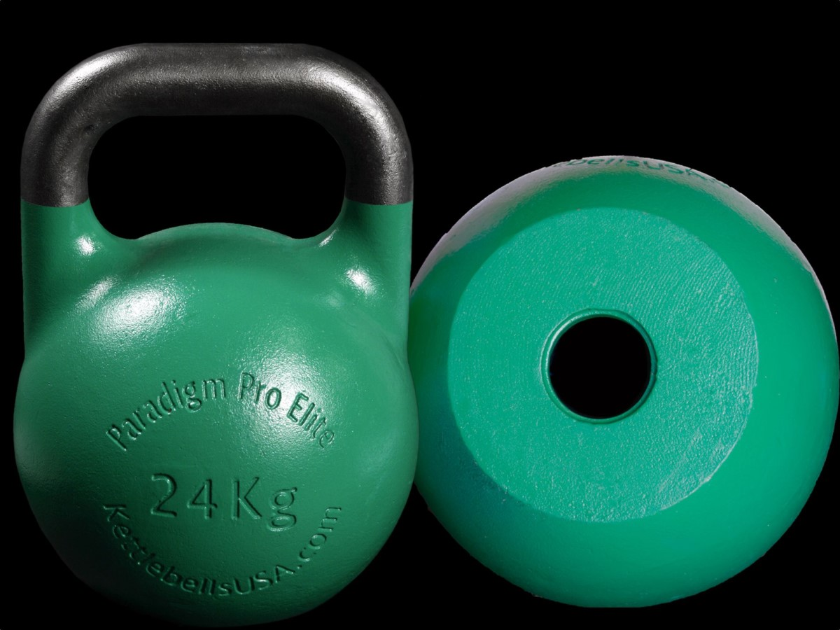 hollow core kettlebell with balanced weight