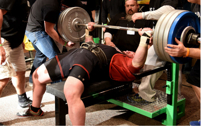 powerlifting bar for benching
