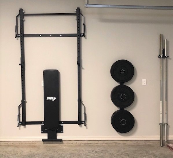 original folding squat rack
