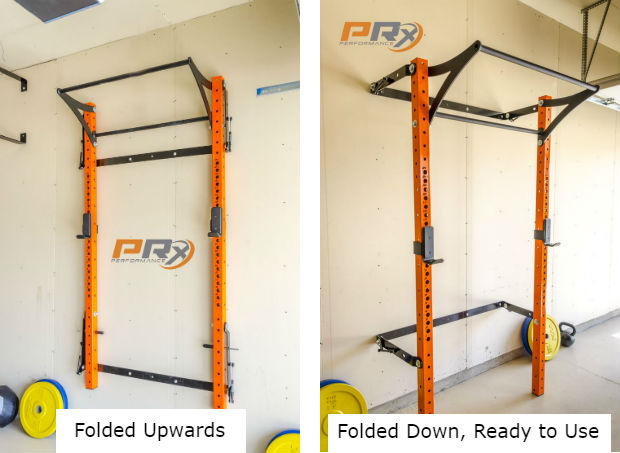 2019 Folding Wall Mounted Squat Racks Comparison Prx Vs