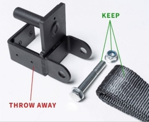 power rack safety strap bracket safety recall filed with the Consumer Product Safety Commission