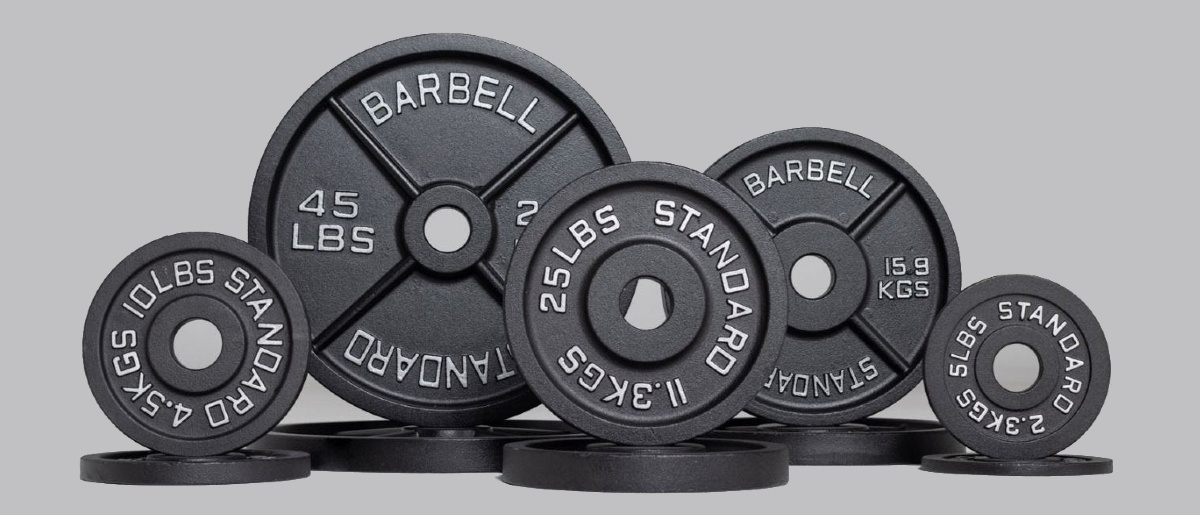 standard olympic plates