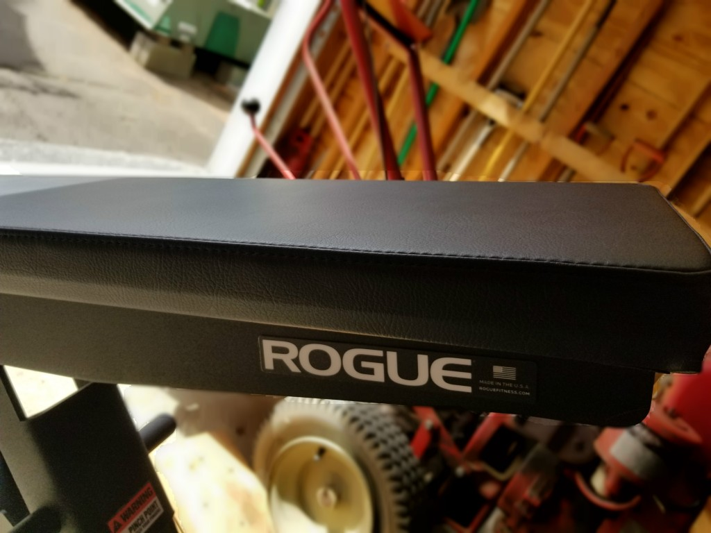 Rogue adjustable bench padding