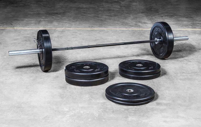 Rogue HG bumper and bar weight set