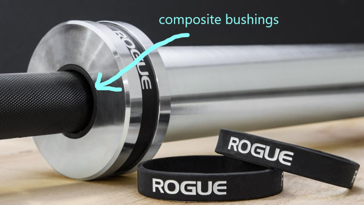 composite bushings on the Rogue Bar 2.0