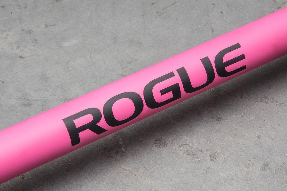 Rogue Bella pink cerakote barbell