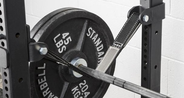 Rogue strap safeties for power rack