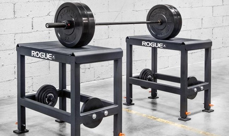 Rogue metal olympic lifting blocks