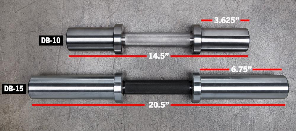 how heavy is a dumbbell bar?