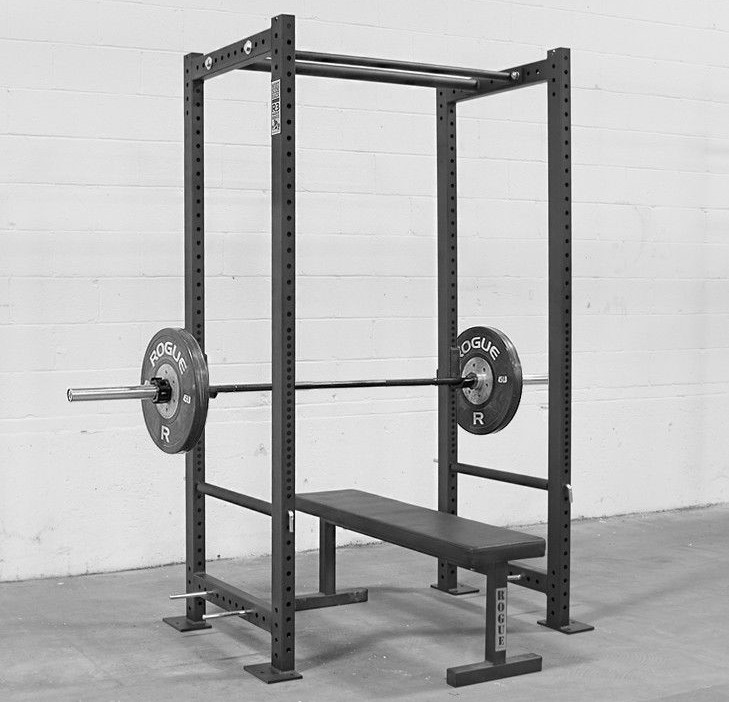 power rack with bench press
