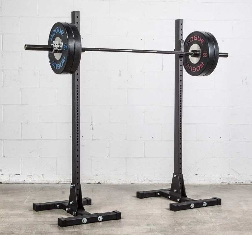 barbell length to fit squat stands
