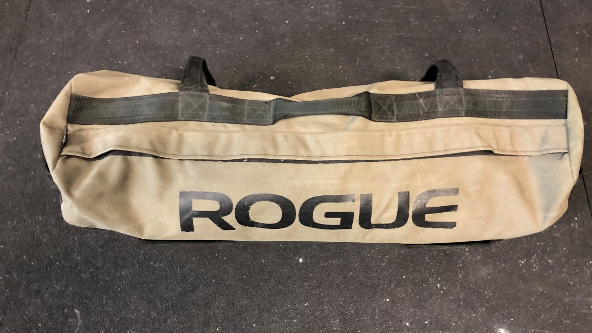 Rogue sandbag shell for conditioning and weight training
