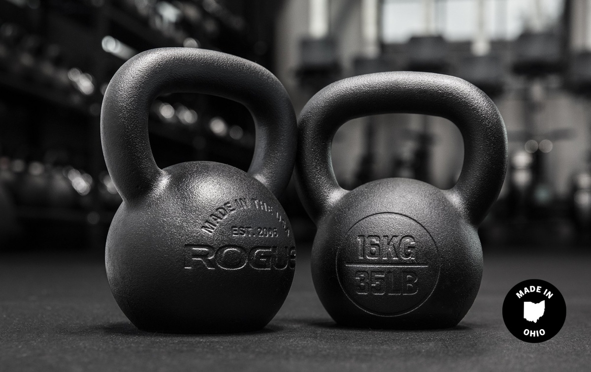made in the USA kettlebells