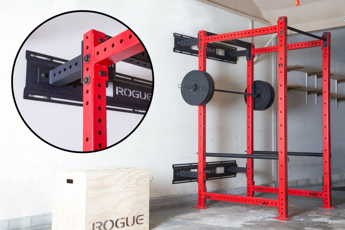 wall mounting a power rack