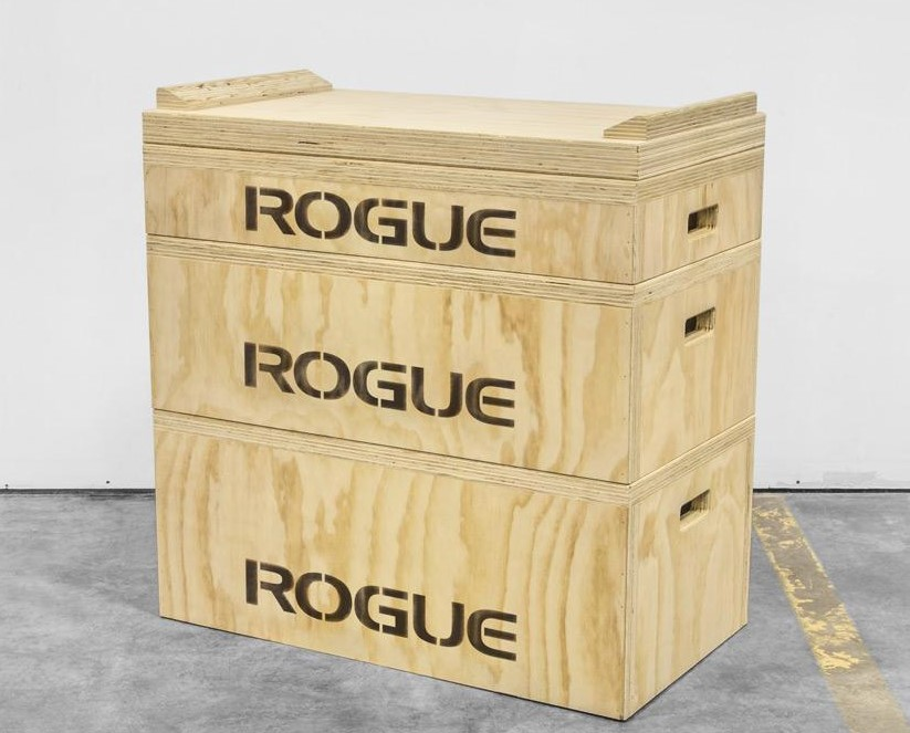 Rogue olympic weightlifting wood jerk blocks