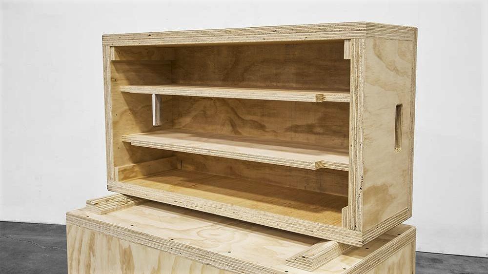 wood plyo box internal reinforcement
