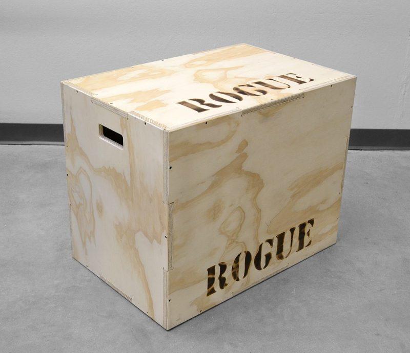 rogue wood plyo cube