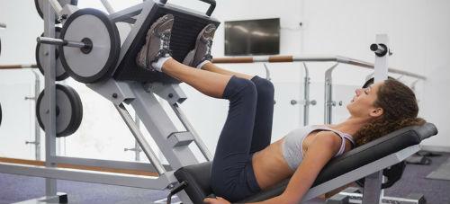 squat weight machine