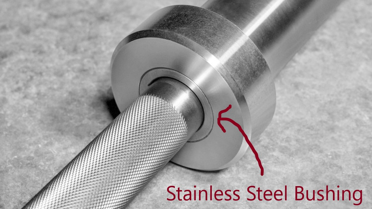 stainless steel barbell bushings
