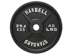 standard olympic 45lb plate