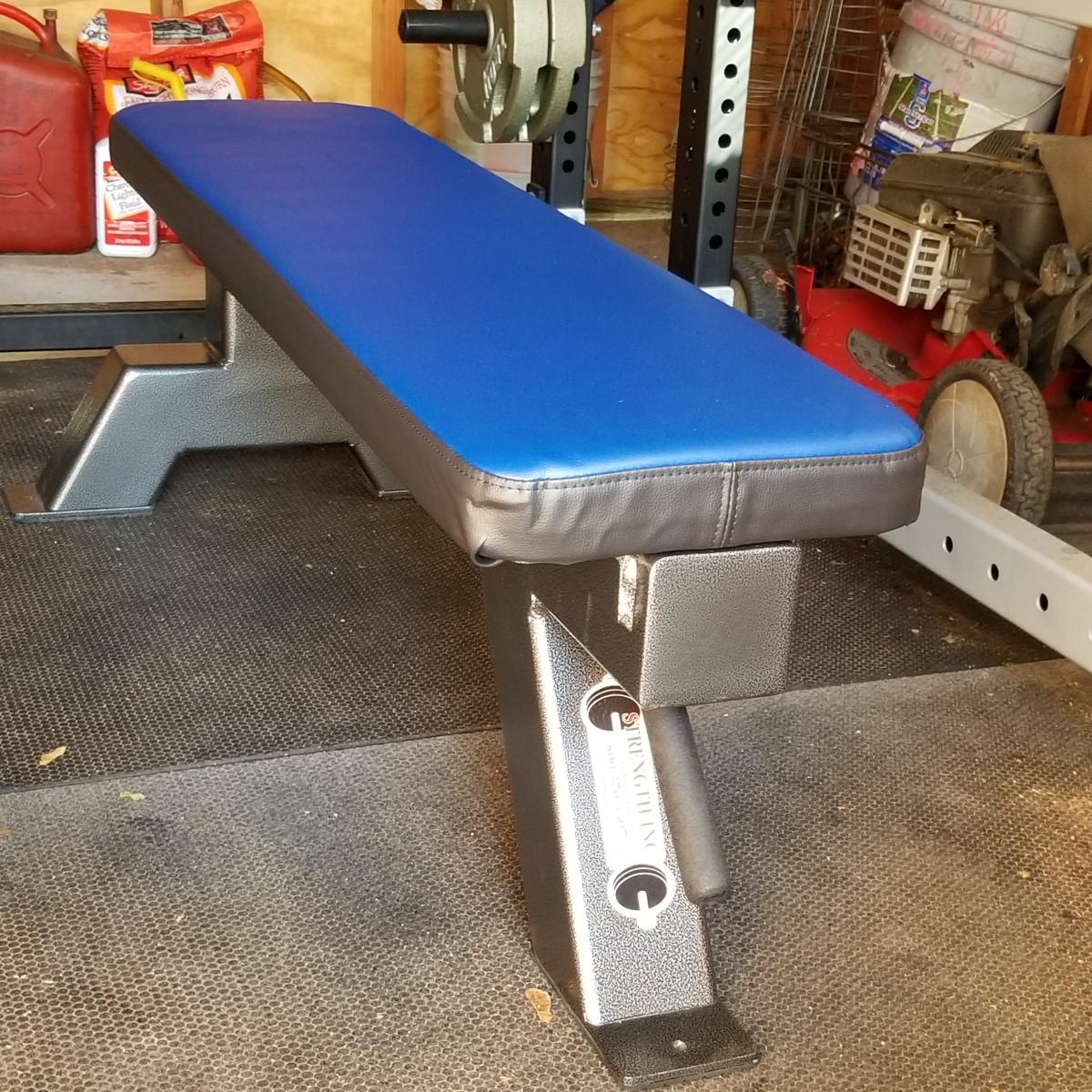 custom flat IPF spec weight bench