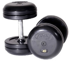 cleaning rubber dumbbells