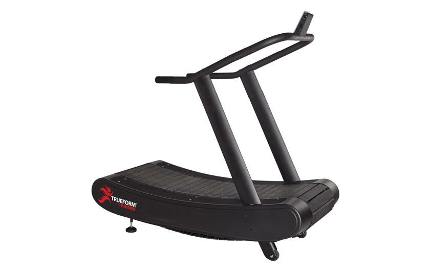 treadmill on second floor home gym