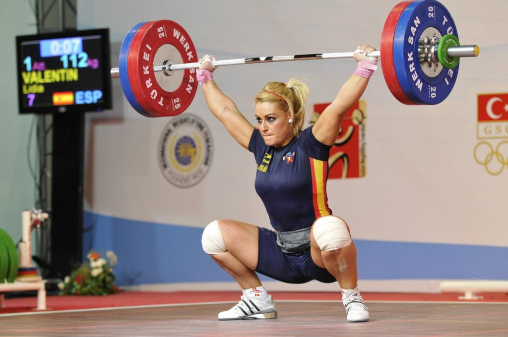 womens size 6ft barbell