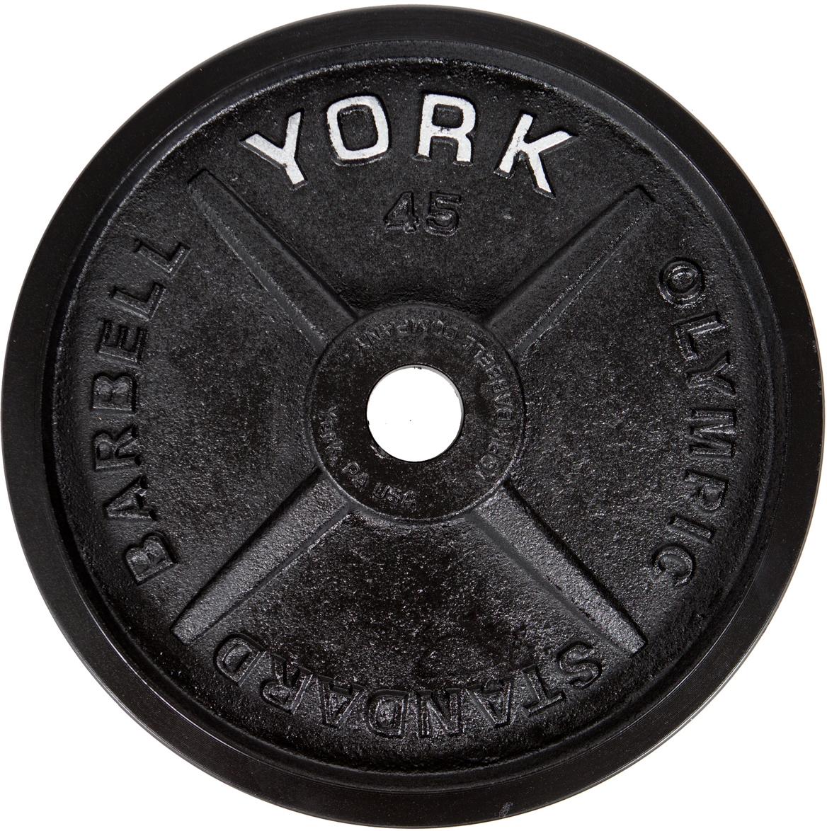 york machined plates
